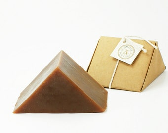 Dark Currant Soap | Unique Soap, Cold Process Soap, Handcrafted Soap, Homemade Soap, Gift Idea for Her, Soap for Men, Ergonomic Shape