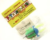 Reserved for Ronny...Please do not Purchase 1970s Beetle Take Apart Puzzle Keychain in Original Wrapper with Instructions... Nadel & Sons