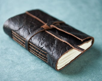 Brownie Top Leather Journal or Sketchbook