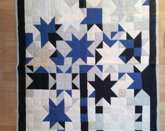 Quilt - Patchwork Sky and Stars