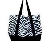Zebra Reusable Shopping Bag