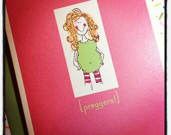 Preggers single card - Happy Pregnancy
