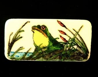 Bullfrog Brooch
