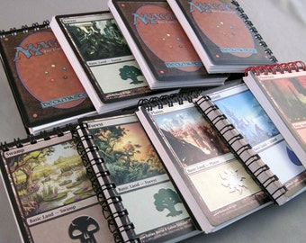 Magic the Gathering Mini Notebook Lot of 2 - Life Counters