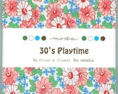 Moda 30's Playtime Charm pack by Chloe's Closet