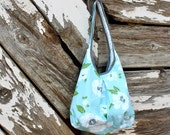 The Dorothy Bag - Cottage Rose print - HandsFullDesigns