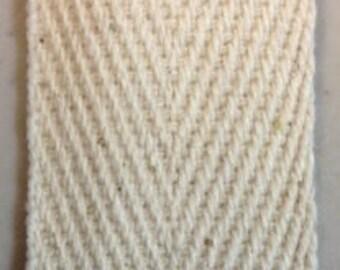 """1"""" Natural Cotton Binding Tape 5 Yards"""