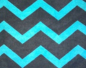 TURQUOISE CHEVRON flannel lounge pants/pajama pants children's sizes 0-3 months to size 8