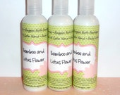 SALE Bamboo and Lotus Flower Smooth As Satin Hand and Body Lotion 4 Ounce Bottle Purse Size