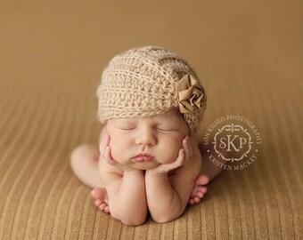 Instant Download, Elizabeth Hat Crochet PATTERN