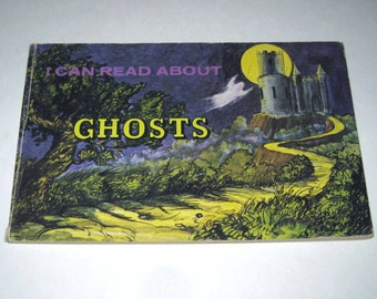 I Can Read About Ghosts Vintage 1970s Children's Book