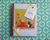 Blank Note Card Set of 4- Penguin & Peep Variety Pack 1
