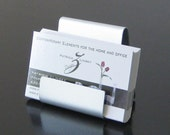 One Pocket Vertical and Horizontal Business Card Holder