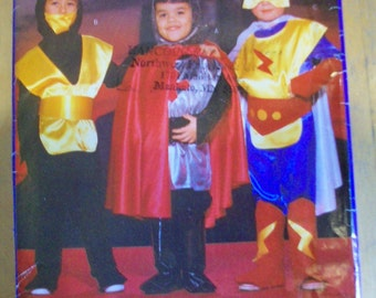 Butterick 5660 Boys Super Hero costume  sewing pattern
