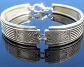 Art Deco Spoon Bracelet (Small) Noblesse