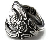 Spoon Ring Silver Artistry size 6 7 8 9 10 11 12 13 14 15