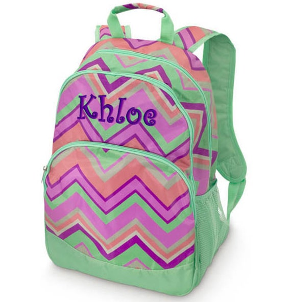 monogrammed girls backpacks Backpack Tools