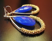 D u l c i t a - 14k gold filled - teardrop - dangle - earrings
