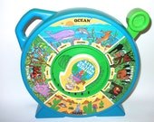 Vintage Mother Nature Says Toy for young children toddlers Animal sounds Educational Toy