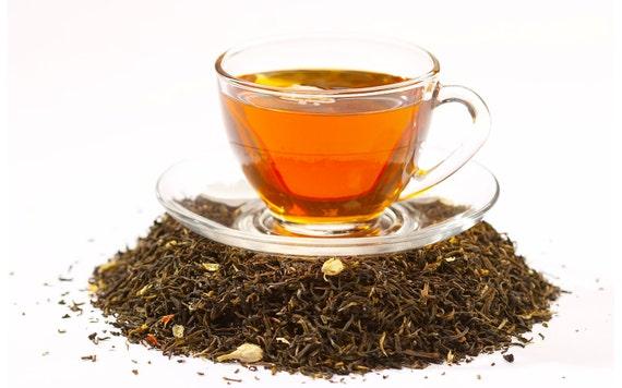 Tea Teabags 50 Apricot Hand Blended black tea in teabags