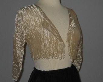 Starry, Starry Night Metallic Silk Bolero