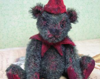 Mohair Vintage Style Artist bear By Melanie Clark