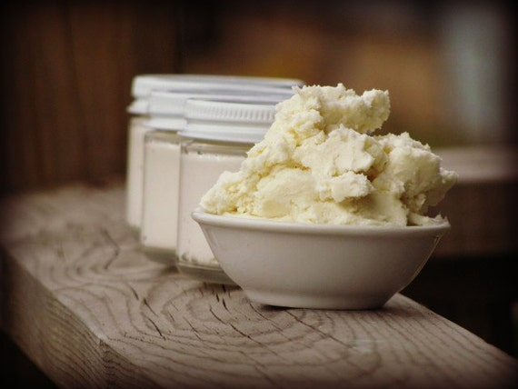 BODY BUTTER - All Natural - Whipped Shea Mango and Cocoa Butter