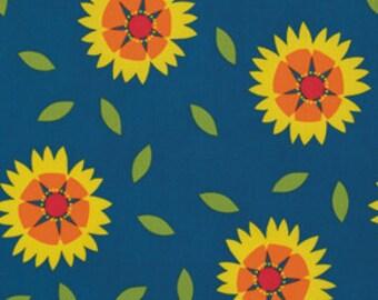 Jane Sassaman Gaillardia Red Wild Child Fabric 1 yard