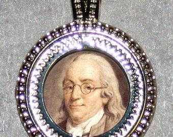 Benjamin Franklin Pendant