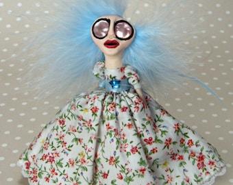 The Dancer - Peg Art Doll Decoration