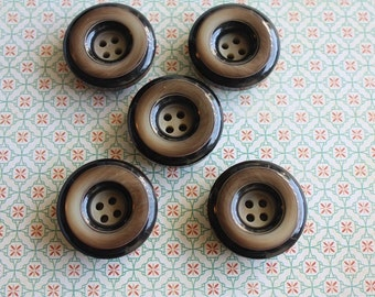 Set of 5 Vintage Buttons
