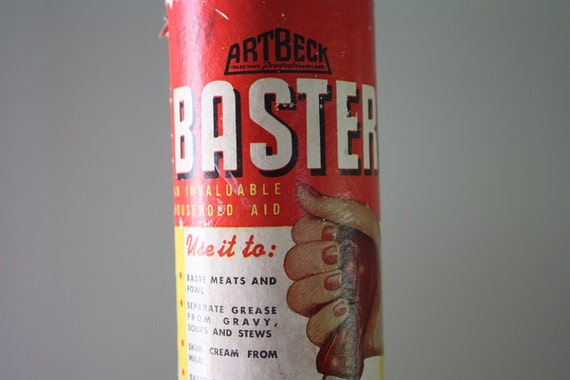 Artbeck Glass Baster 1946