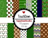 Digital Scrapbooking TouchDown-INSTANT DOWNLOAD