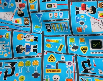 Special price Japanese Fabric Little Scientist