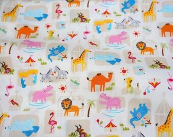 Animal print japanese fabric (n211)
