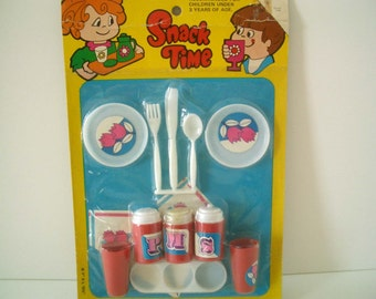 Vintage Snack Time Playset Toy