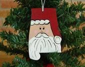Alabama Santa Ornament