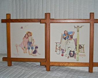 VINTAGE--Norman Rockwell Framed Prints