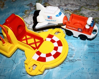 1993 The Flip Space Shuttle Set by Fisher Price
