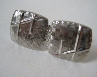 Silver Cuff Links Vintage