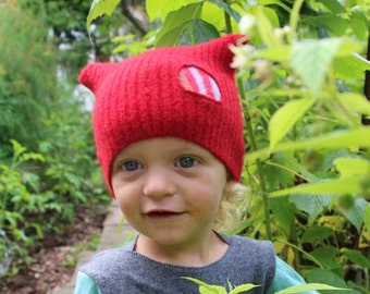 Custom Baby Hat - Pure Wool - OWLET