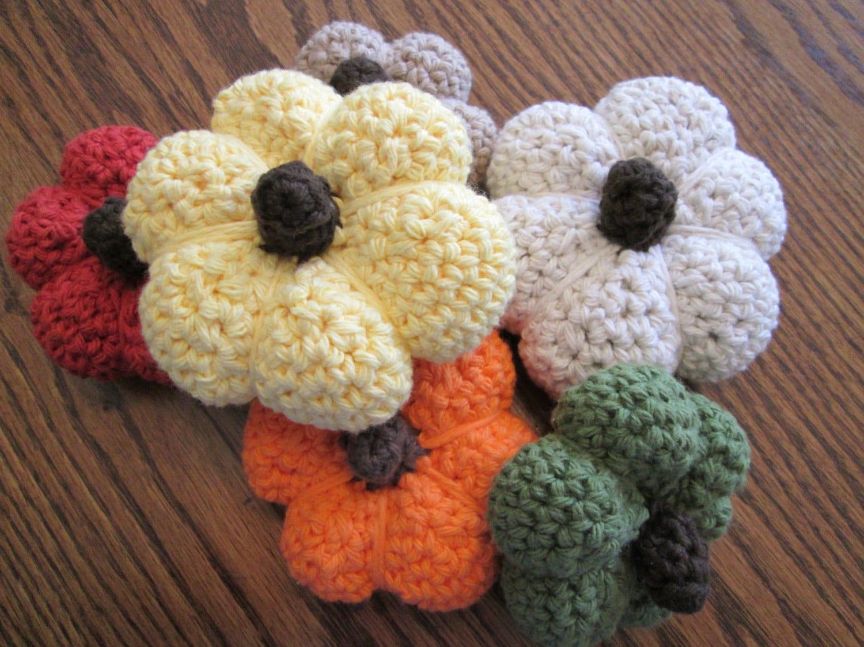 Decorating Ideas > Crochet Pumpkin Fall Thanksgiving Decor Amigurumi Large ~ 070224_Thanksgiving Decorations On Etsy