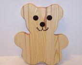 Teddy Bear Cutting Board
