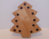 Mini Christmas Tree Cutting Board