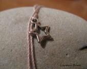 Lucky Star Charm Dream it, Wish it, Wear it Bracelet/Anklet by Carmen Bowe