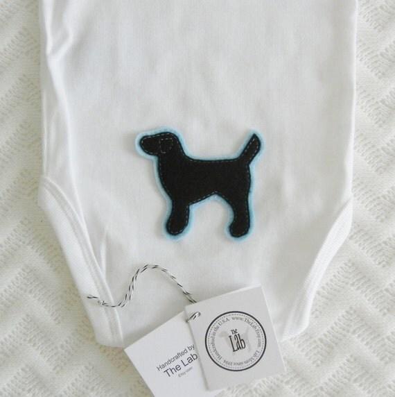 Black Lab Bodysuit - It's a Son!