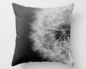 Dandelion  Number 2 Throw Pillow Cover