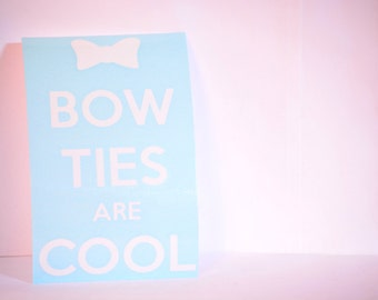 Bow Ties are Cool Precision Cut Vinyl Car Window Decal Sticker for Doctor Who Fans TARDIS