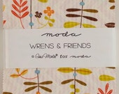 Charm Pack Wrens and Friends by Gina Martin