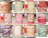 SPECIAL OFFER: Buy 5 Get 6 Meters Floral Double Fold Bias Tapes